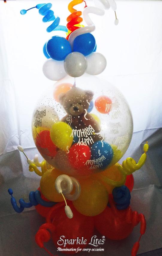 its a girl stuffing balloon 10 pk sparkle lites australia