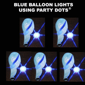 Blue Balloon lights 5 pack