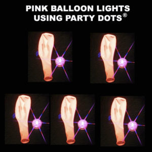 Pink Balloon lights 5 pack