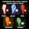 Asst Balloon lights 5 pack