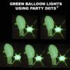 Green Balloon lights 5 pack