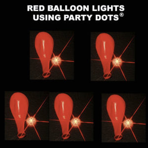 Red Balloon lights 5 pack