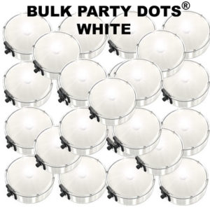 50 White Party Dots® 50 pack