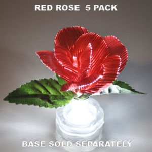Red Rose 5 pack