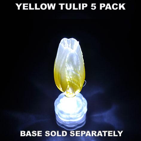 Yellow Tulip 5 pack