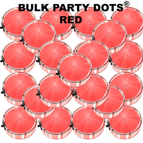 50 Red Party Dots® 50 pack