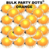 50 Orange Party Dots® 50 pack
