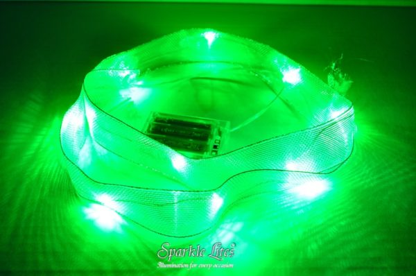Green Ribbon Lites 1 pack