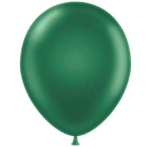 Metallic Green 28cm Latex Balloons 20 BAG