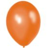 Metallic Orange 28cm Latex Balloons 20 BAG