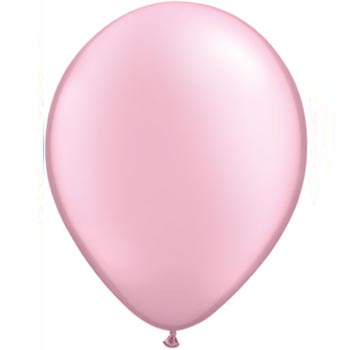 Light Pearl Pink 28cm Latex Balloons 100 BAG