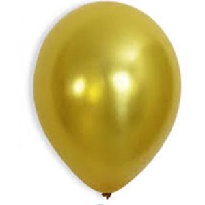 Metallic Gold 28cm Latex Balloons 100 BAG