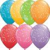 Stars Around 28cm Printed Balloons 100 BAG