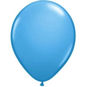 Metallic Sky Blue 28cm Balloons 20 BAG