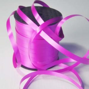 Fucshia 8mm Wide Curling Ribbon
