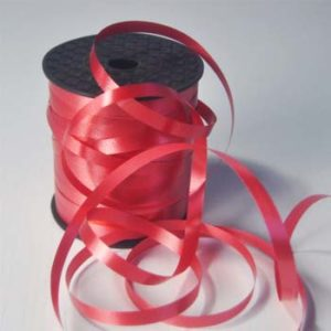 Red 8mm Wide Curling Ribbon