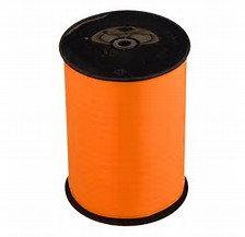 Orange 8mm Wide Curling Ribbon