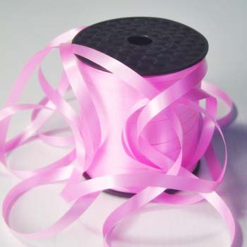 Light Pink Wide 8mm Curling Ribbon