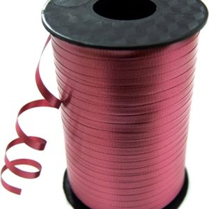 Burgundy 8mm Curling Ribbon
