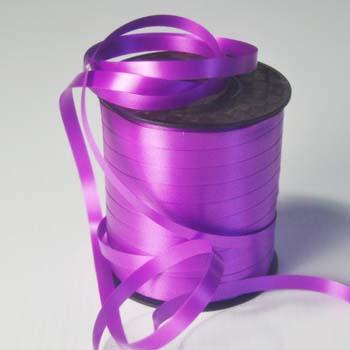 Purple 8mm Wide Curling Ribbon