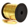 Gold Foil 5mm Curling Ribbon