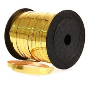 Gold Foil 5mm Curling Ribbon