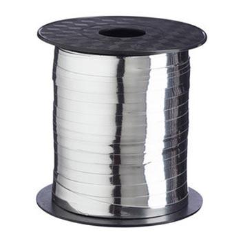 Silver Foil 5mm Curling Ribbon