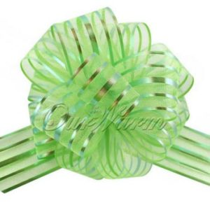 Green Pull Bow