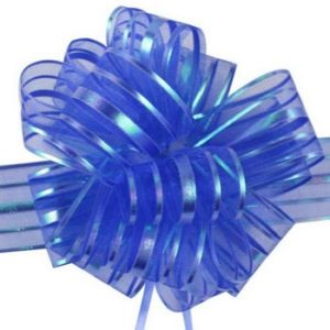 Dk Blue Pull Bow