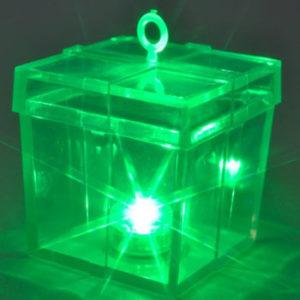 Green L.E.D. Sparkle Weight