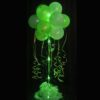 1 Green Sparkle Balloon Topiary D.I.Y