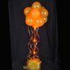 1 Orange Sparkle Balloon Topiary D.I.Y
