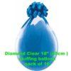 Diamond Clear Stuffing Balloon 10 pk