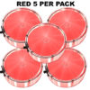 Red Party Dots® 5 pack x 4