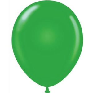 GREEN 28cm Latex Balloons 100 BAG