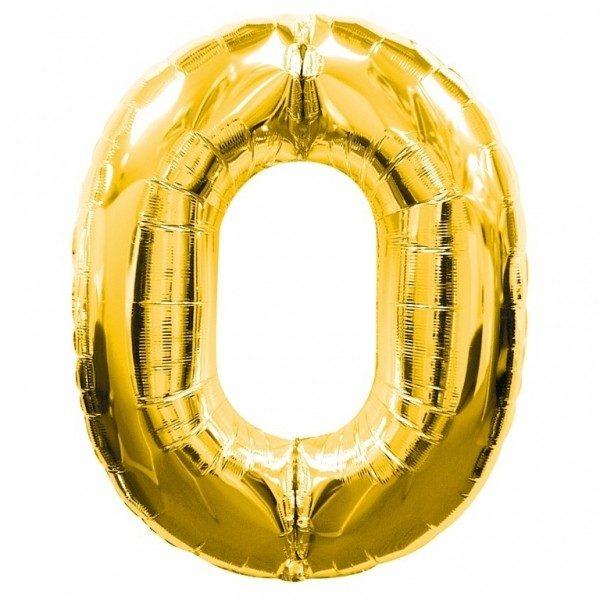 NUMBER 0 GOLD FOIL 1 METRE