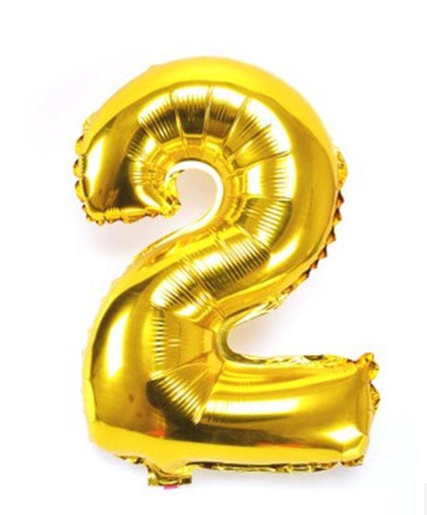 NUMBER 2 GOLD FOIL 1 METRE