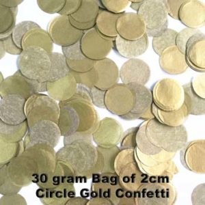 Gold Confetti 30 gram bag