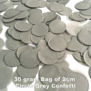 Grey Confetti 30 gram bag