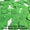 Apple Green Confetti 30 gram bag