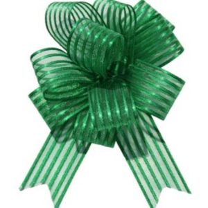 Dark Green Pull Bow