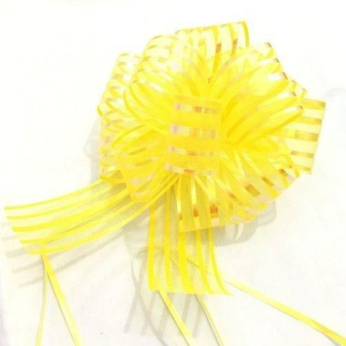 Yellow Pull Bow