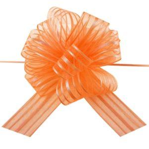 Orange Pull Bow