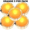 Orange Party Dots® 5 pack x 4