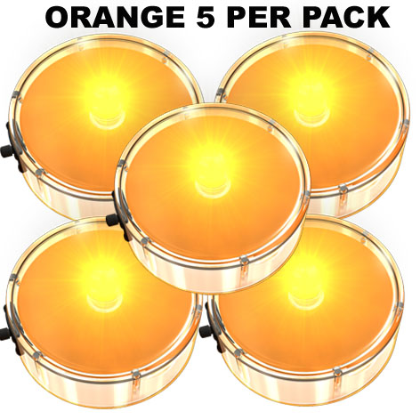 Orange Party Dots® 5 pack x 4