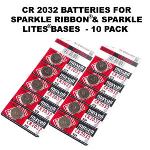 10 Batteries CR2032