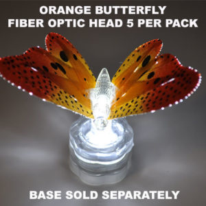 Orange Butterfly 5 pack