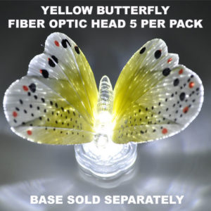 Yellow Butterfly 5 pack