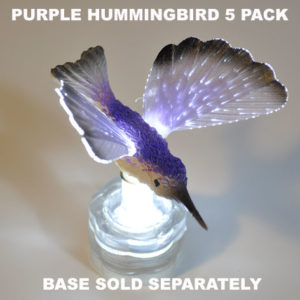 Purple Hummingbird 5 pack