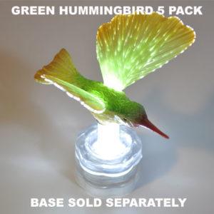 Green Hummingbird 5 pack
